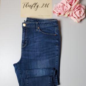 [Mossimo] 14R Curvy Skinny Jeans